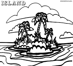 Small Picture Draw Island Coloring Pages 85 In Free Online with Island Coloring