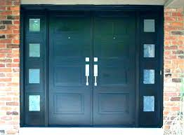 panel front door frosted glass exterior doors with 6 double entry best ideas on
