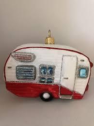 Vintage Wohnwagen Weihnachtsschmuck Christbaumschmuck