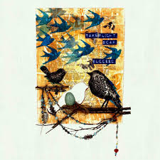 funky wall art bird image permalink