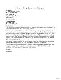 Graphic Designer Cover Letter For Resume Best Graphic Design Cover Letter Resume Engineering Internship 8