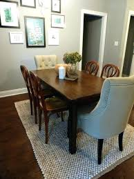 dining room table rug to elegant area under rugs carpet protector
