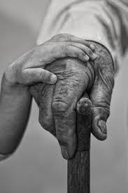 Image result for old man's hand holding a young hand