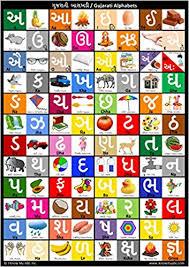 Gujarati Kakko Chart Gujarati Alphabet Chart Harshish Patel Mann Patel