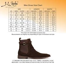 Size Charts J L Rocha Collections Handmade In Mexico