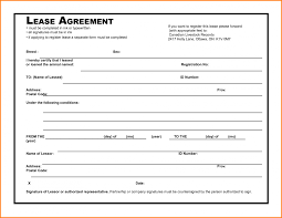 8 Simple Rental Agreement Form Printable Receipt Free Application