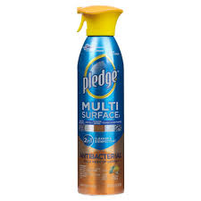 pledge 9 7 oz fresh citrus antibacterial multi surface everyday cleaner