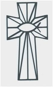 Stained Glass Cross Coloring Pages Elegant Stained Glass Cross