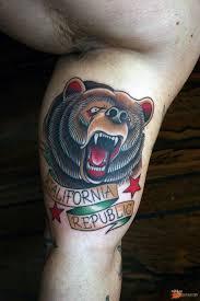 татуировки медведя медведицы медвежьего оскала значение и фото