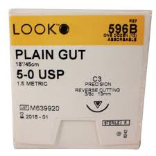 Look Plain Gut Sutures Absorbable Precision Reverse