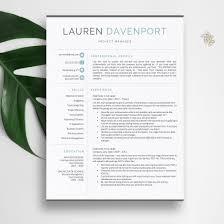 Writting A Modern Resume Resume Template Cv Template Cv Design Creative Resume Template