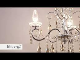 vara 3 light bathroom chandelier with champagne crystals litecraft lighting your home