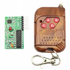 2262/2272 4 CH <b>315Mhz</b> Key <b>Wireless</b> Remote <b>Control</b> Kits ...