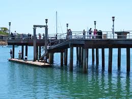 Dana Point Harbor Fishing Pier Pier Fishing In California