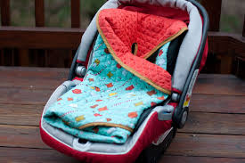 5 ways to upcycle old baby blankets turn them into a car seat cover