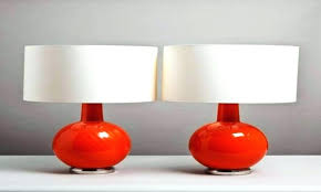 copper coloured table lamp shades colorful modern lamps contemporary colored glass tips to find one lighting