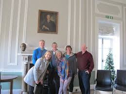 L-R back row - Godfrey Owen (Brathay CEO), Peter Lawrence, Mrs & Guy Allan,  L-R front row - Trisha Andrew, Priscilla Lawrence. - Cumbria Crack