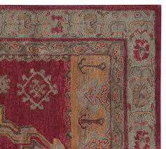arlington persian style rug pottery barn throughout area rugs inspirations 18