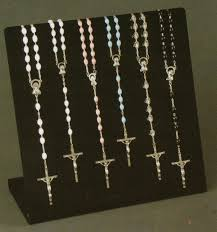Rosary Display Stand rosary display Google Search Rosary and Jewelry Display 2
