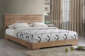 Solid Wood Bed, Modern Solid Wood Queen Bed, Japanese Style Wooden Bedroom  Furniture