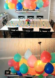 homemade birthday party decorations for adults best easy ideas on hanging  balloons helium . easy diy 1st birthday decorations ...