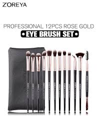 Buy <b>Zoreya</b> 12 Pcs Eye <b>Makeup</b> Brush Sets <b>Professional</b> Eye Brush ...