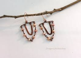 pink pearl chandelier earrings and bracelet set offered individually