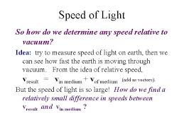 sd of light how fast is the sd