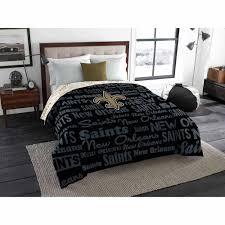 Orleans Bedroom Furniture Nfl New Orleans Saints Twin Full Bedding Comforter Walmartcom