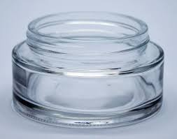 100ml shallow cosmetic jar