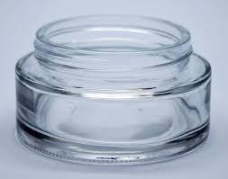 100ml shallow cosmetic jar