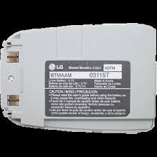 lg vx4400. lg vx4400 / vx4400b oem original li-ion battery - lgli-abtm lg vx4400 l