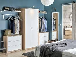 ikea fitted bedroom furniture. Brilliant Ikea Ikea Bedroom Cabinets A With Wardrobe In Oak Effect White  Doors Combined   Intended Ikea Fitted Bedroom Furniture D