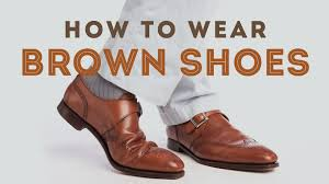 How To Wear Brown Shoes Men S Leather Dress Shoes Oxford Derby