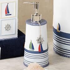 Nautical Bathroom Decorations Lighthouse Bathroom Daccor City Gate Beach Road