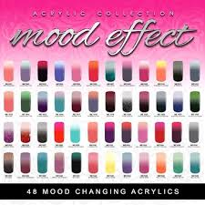 Glam And Glits Mood Effect Changing Color Acrylic