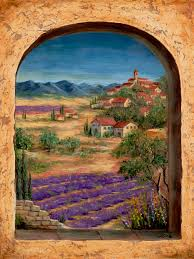 Mural Tiles For Kitchen Decor tuscan wall murals Tuscan Landscapes For Tile Murals Tile Murals 66