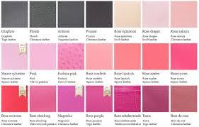 hermes color chart