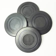 challenger lift b2208 round rubber arm pads for challenger hoist set of 4