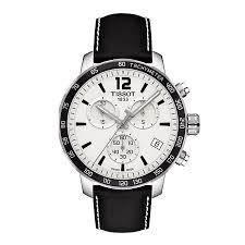tissot watches quality swiss watches ernest jones watches tissot men s black leather strap watch product number 2175584