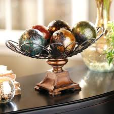 Orb Decorative Ball Decorative Spheres For Bowls Easy Orb Bowl Table Decoration My 19