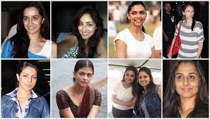 actress without makeup