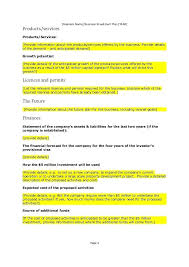 Investment Plan Templates Business Investment Plan Template Systematic Example 4 Name
