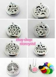 <b>1pcs chrome Stainless Steel</b> +zinc Aromatherapy Diffuser Locket ...