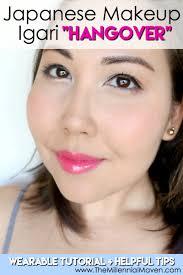 wearable anese igari hangover makeup tutorial