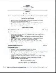 Sample Resume Quality Assurance Best Of Quality Control Resume Quality Control Resume Elegant Mechanical