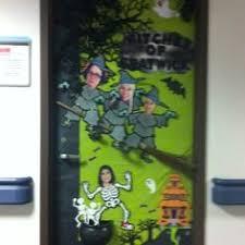 3d halloween door decorations | Halloween Office Door Decorations