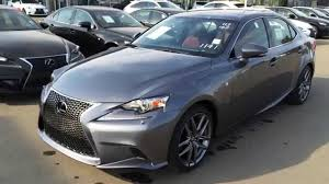 new grey on rioja red 2016 lexus is 250 awd f sport series 3 walk around review downtown edmonton you