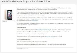iphone 6 price apple store. from today onwards, any iphone 6 plus device that has been affected by the \u201ctouch disease\u201d can send their phone to an apple store or authorized iphone price