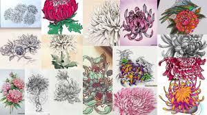значение тату хризантема клуб татуировки фото тату значения эскизы